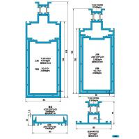 Wholesale 175 190 Drawing of Insulating Exposed Frame Curtain Wall Profile from china suppliers
