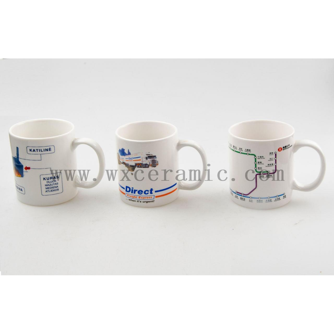 11oz white mug with printing, for advertising&promotional&gift