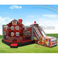 Wholesale Bouncers Fire Rescue combo from china suppliers