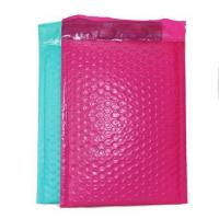 Color co-extruded PE film bubble bag