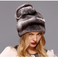 Wholesale chinchilla rex rabbit fur hat from china suppliers