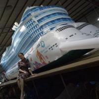 Inflatable Dream Cruises For Exhibition