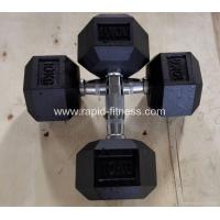 Wholesale Cheap Selling Gym Rubber Casting Dumbbell RDSE-68 from china suppliers