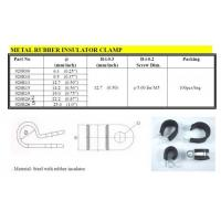 Wholesale Cable Management Metal Rubber Insulator Clamp from china suppliers