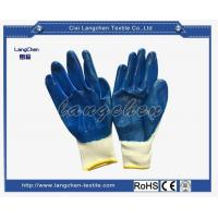 Gloves 13G 100% Polyester Nitrile Coated Glove for sale