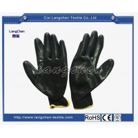 Gloves 13G 100%polyester Dipped Glove for sale