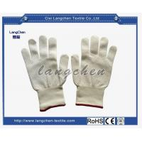 Gloves 10G 100% Polyester PVC Dotted Glove 500G for sale