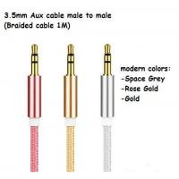 Wholesale Cable & Adaptor Aux cable 3.5mm to 3.5mm from china suppliers