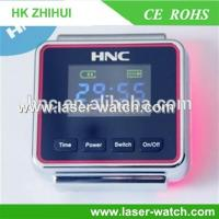 Buy cheap convenient use 650nm cold comfortable laser acupunture watch for diabetes from wholesalers
