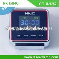 Buy cheap Wrist laser therapy watch for diabetes and hypertention and blood clean from wholesalers