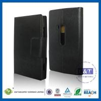 Nokia Cases C&T Leather Flip ID Credit Card holder smart cover for nokia lumia 920