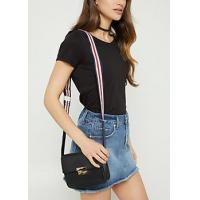 Wholesale Bags and Wallets Black Striped Pattern Strap Crossbody Bag from china suppliers