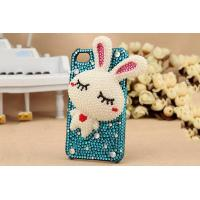 Wholesale IPhone 5/5S/5C Set auger the little white rabbit Crystal cell phone case from china suppliers
