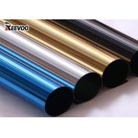 Wholesale Self Adhesive Gold Mirror Window Reflective Film from china suppliers