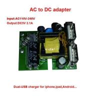 AC/DC Dual USB Power Supply PCB