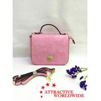 Wholesale Mini Messenger Bags Leather with Flower Buckle from china suppliers