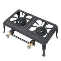 China Cast Iron Mini Camping Gas Stove Portable Gas Cooker on sale