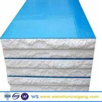eps sandwich roof panel/polystyrene roof sandwich panel price factory of building materials