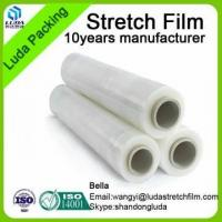 China pe packaging plastic roll stretch film rewinder machinery on sale