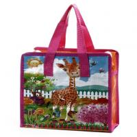 Wholesale latest products in market zip lock shopping handled non woven bag from china suppliers