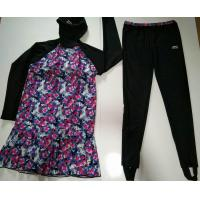 Buy cheap LADIES SWIMSUITS muslim swimwear suit with foot pants from wholesalers