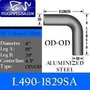Buy cheap 4'' ALZ Elbows OD-OD L490-1829SA 4