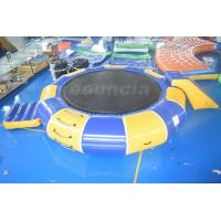 Wholesale 0.9mm PVC Tarpaulin Inflatable Water Trampoline Combo For Water Sports from china suppliers