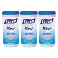 Wholesale PURELL Hand Sanitizing Wipes, 5.7 x 7 1/2, Clean Refreshing Scent, 40/Canister,18/Ctn from china suppliers