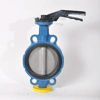 Wafer butterfly valve Iron handle wafer butterfly valve