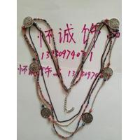 Wholesale New multi layer computer printed sweater Necklace10 Dozen/Dozens from china suppliers
