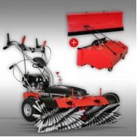 Wholesale Sweeper Jansen MKB-500 E with electric starter + container + snow blade from china suppliers