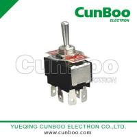 China Toggle switch KN3(B)-203P DPDT six pins toggle switch on sale