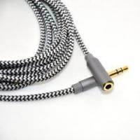 Universal copper shell 3.5mm aux extension cable for car stereo