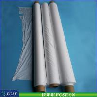 Coated filter material (industrial filtration membrane)