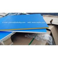 Wholesale Dual color HDPE Plastic sheet for outdoor sign board from china suppliers