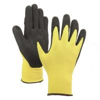 China nitrile sandy palm coated gloves for sale
