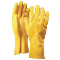 gauntlet yellow nitrle coated gloves for sale