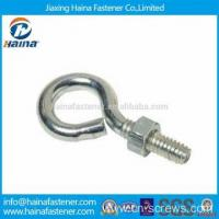 Wholesale Stainless steel hook bolt long stub eye bolt with nut from china suppliers