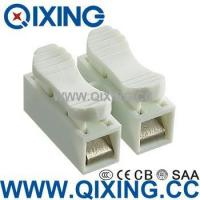 Wholesale Two Phase10a 400v Double Wire Connector with White Color from china suppliers