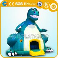 Wholesale inflatable dinosaur bounce houses,Giant inflatable dinosaur bouncy castles,Jumping castles from china suppliers
