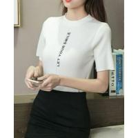 Buy cheap Pullover printing Casual slim summer letters sweater from wholesalers