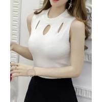 Buy cheap Spring sleeveless pullover sweater slim fashion vest from wholesalers