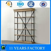 Wholesale Industrial Artcraft 5-layer Open Metal Frame Wall Mounted Display and Storage Furniture from china suppliers