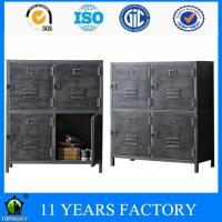 Wholesale Metal Industrial Vintage Antique 4doors File and Wine Storage Cabinet from china suppliers