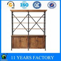Wholesale Industrial Design Metal Frame Home Office Use High Storage Cabinet with 4 Shelves from china suppliers