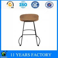 Wholesale Hot Selling Industrial High Quality Pinewood Pile Seat Kitchen Elegant Bar Stool from china suppliers