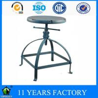 Wholesale Industrial Vintage Antique Metal Round Seat Colored Garden Stool from china suppliers