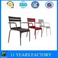 Wholesale Colorful Luxembourg Bridge Metal Stakable Garden Outdoor Chair from china suppliers