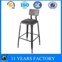 Wholesale Metal Vintage Upholstered Club and Cafe Dining Bar Chair from china suppliers