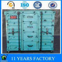 Wholesale Industrial Vintage Hammered 4-drawers Mobile Home Office Use Storage Cabinet from china suppliers